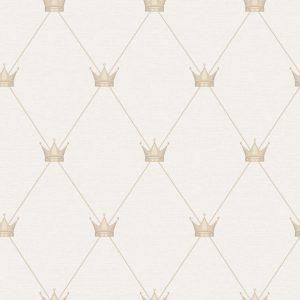 Papel de parede Renascer Coroas Bege