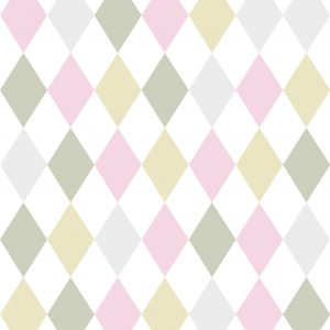 Papel de parede Renascer losango Colorido