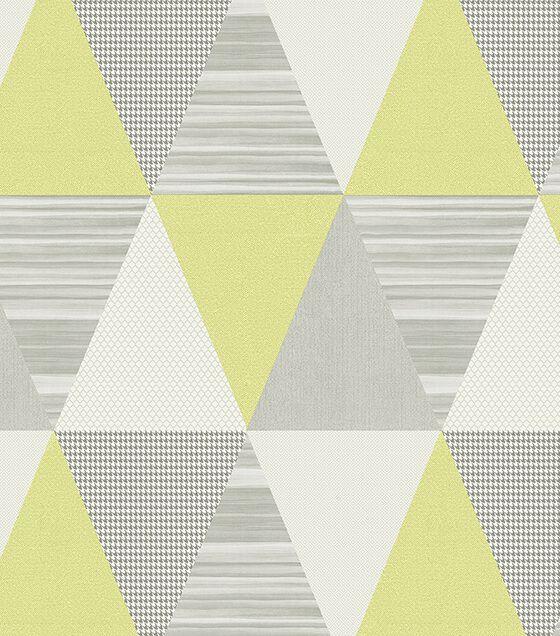 Papel de Parede Abracadabra Triângulo Amarelo