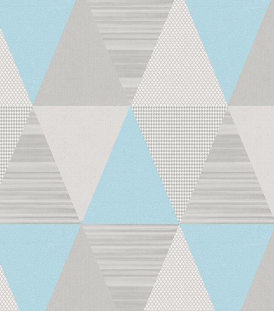 Papel de Parede Abracadabra Triângulo Azul
