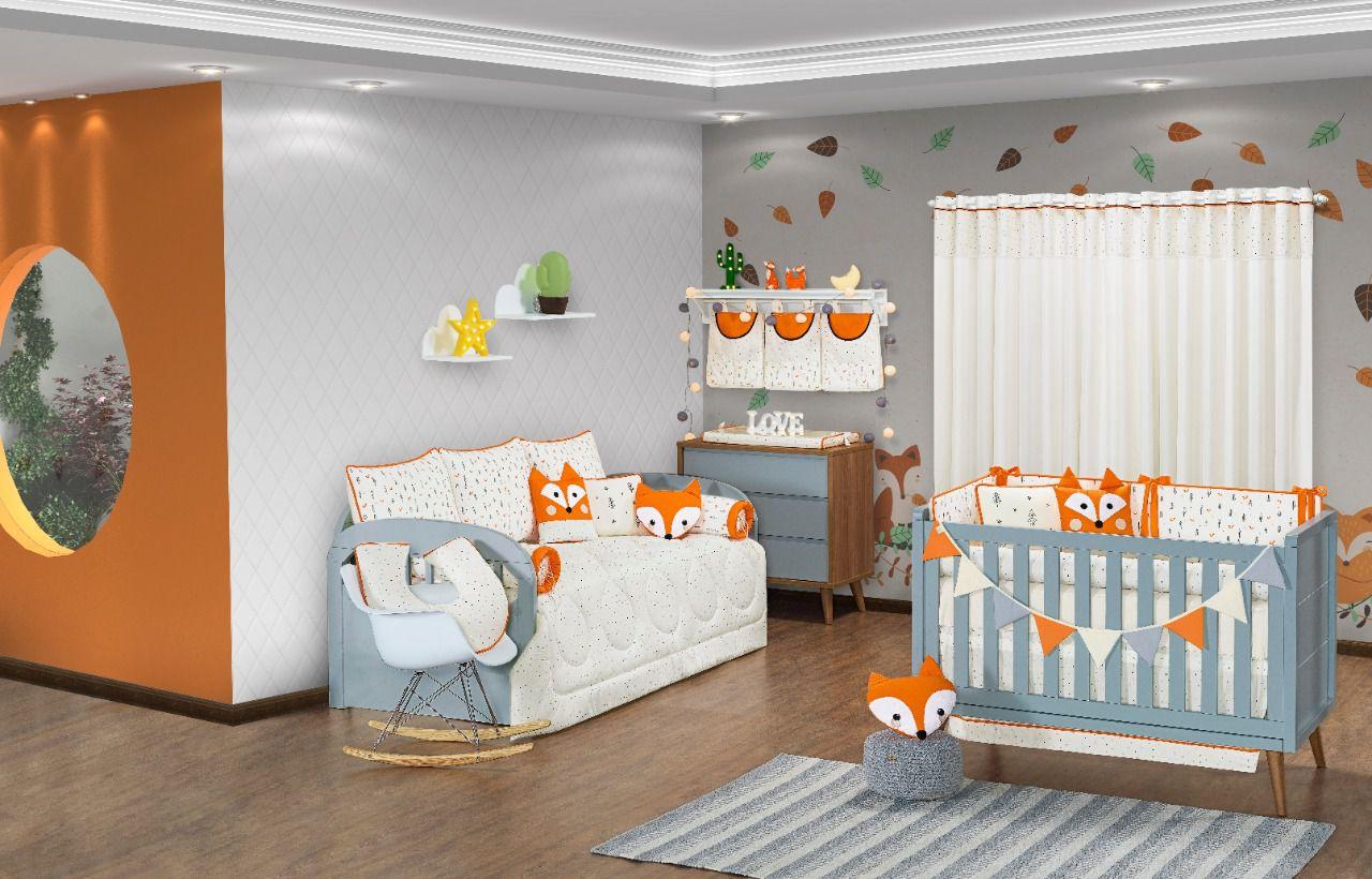 Porta Fraldas/ Objetos para Varão Coleção Fox