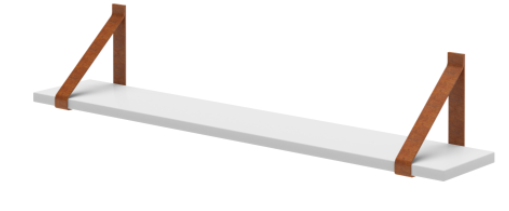Prateleira Evolutiva 90cm Branco Fosco