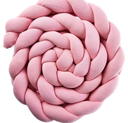 Protetor Trança Montessoriano Rosa Lisa