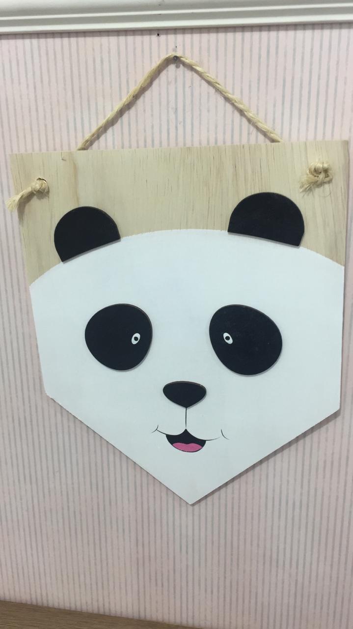Quadro Decorativo Panda