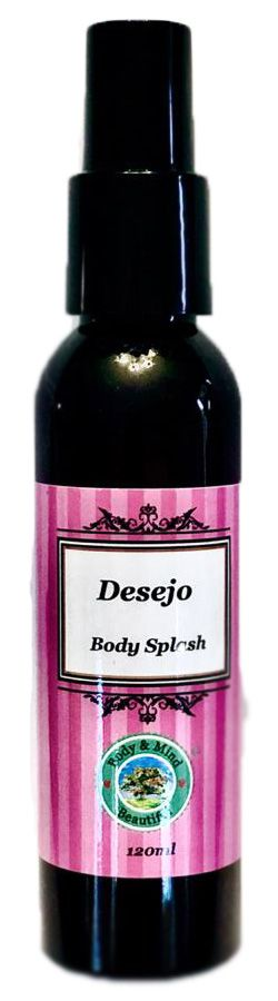 Body Splash - Desejo - 120ml  - Body & Mind Beautiful