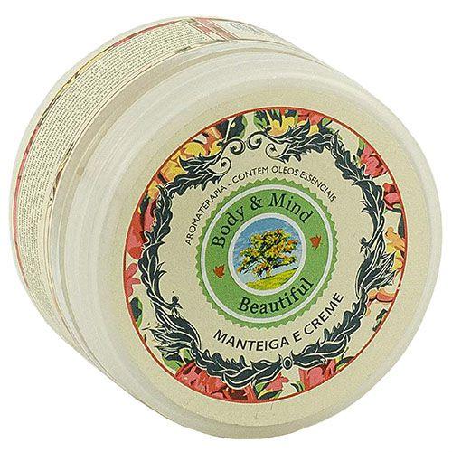 Manteiga Mousse Redutora e Firmadora - Beautiful - 190ml  - Body & Mind Beautiful