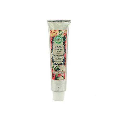 Óleos Essenciais - Linha Beautiful -Creme Hidratante Para As Mãos - 70ml  - Body & Mind Beautiful