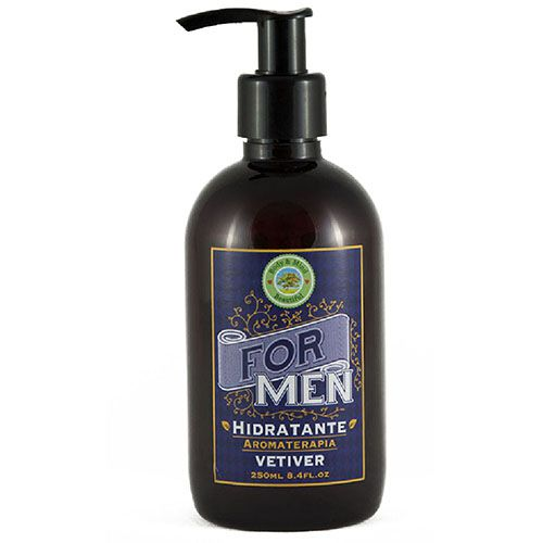Hidratante - Vetiver - Linha For Men - 240ml  - Body & Mind Beautiful