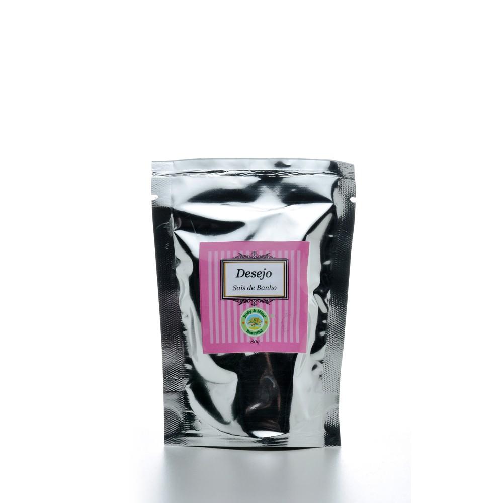 Mini sais de banho - Desejo - 80g  - Body & Mind Beautiful