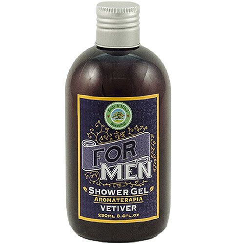 Linha For Men - Shower Gel 3 em 1 Vetiver - 250ml  - Body & Mind Beautiful