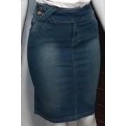 Saia Jeans Passantes Cruzados Via Tolentino