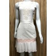 Vestido Laise Charist Whell Fascíniu's Moda Evangélica