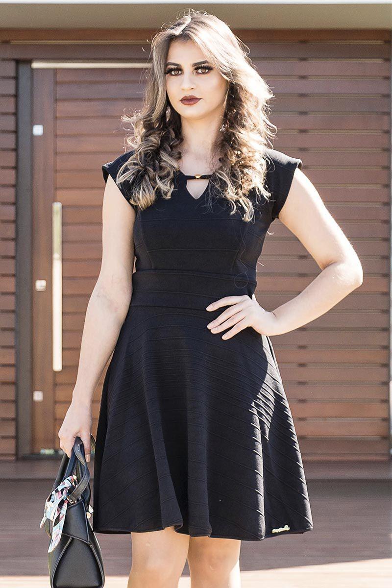 Vestido Gode Lady Like Maria Bourbon Moda Evangélica