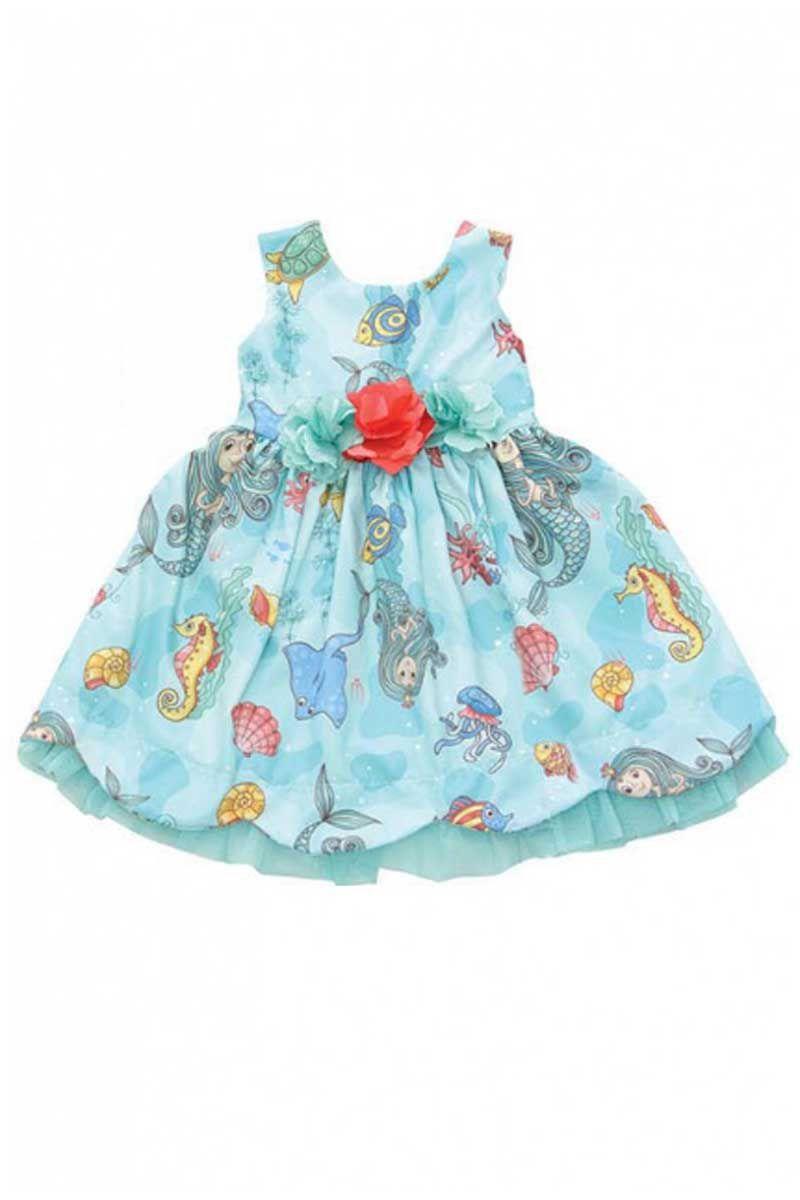 Vestido Infantil Estampado Moda Bebê