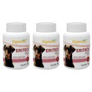 3 X Eritrós Dog Tabs 18 G Organnact 18g