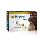 Antipulgas Simparic 120 Mg Para Cães 40,1 A 60 Kg - Zoetis 3 Comprimidos