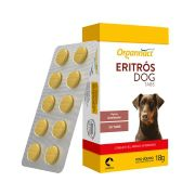 Eritros Dog Tabs 18g - 30 Comprimidos Organnact  - Envio Imediato