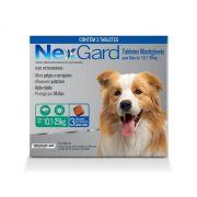 Nexgard Para Cães De 10,1 a 25 Kg - 3 Tabletes Mastigáveis