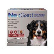Nexgard Para Cães De 25,1 a 50 Kg - 3 Tabletes Mastigáveis