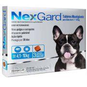 Nexgard Para Cães De 4,1 a 10 Kg - 3 Tabletes Mastigáveis