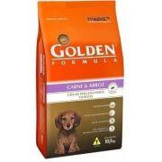 Ração Golden Fórmula Cães Filhotes Carne Arroz Mini Bits 10 Kg