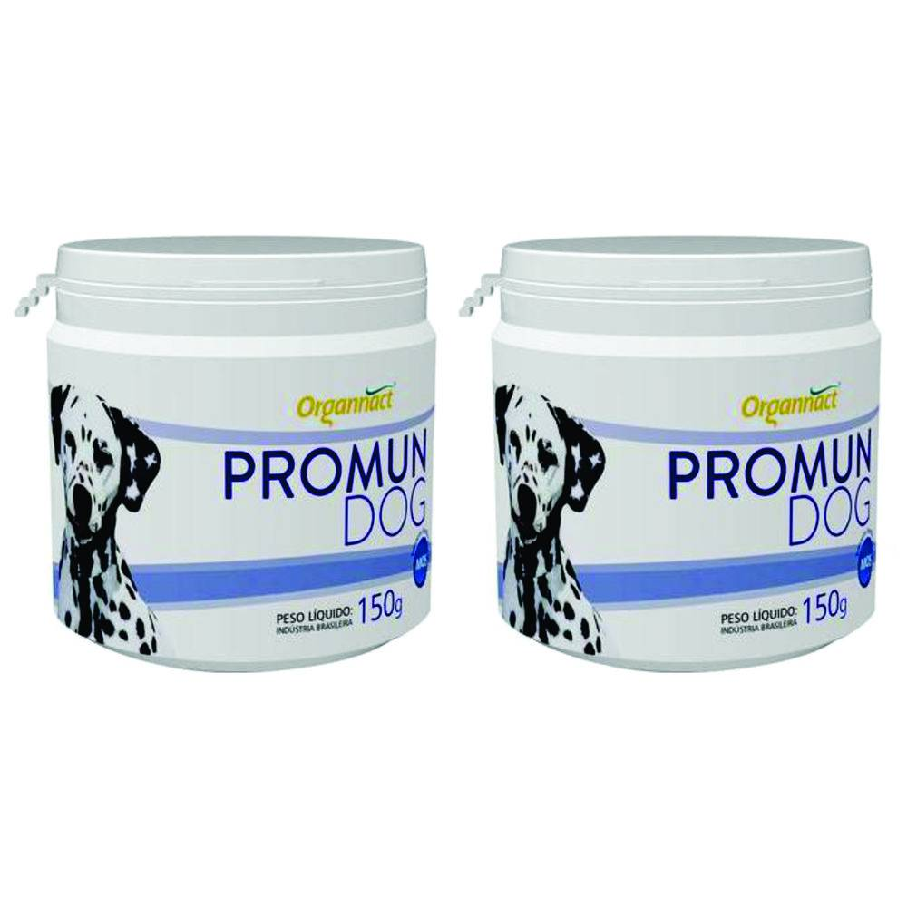 2 X Promun Dog 150g Organnact 150 G