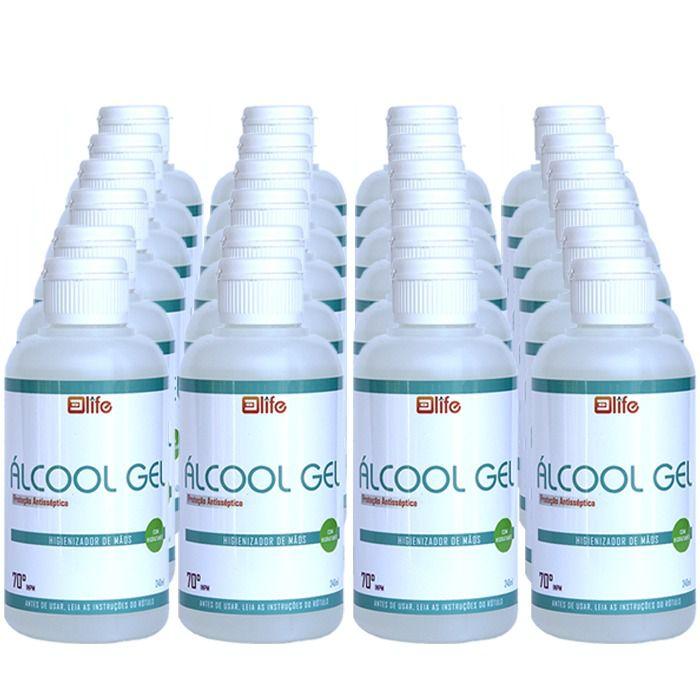 Alcool Gel 70% Antisseptico 240g Life