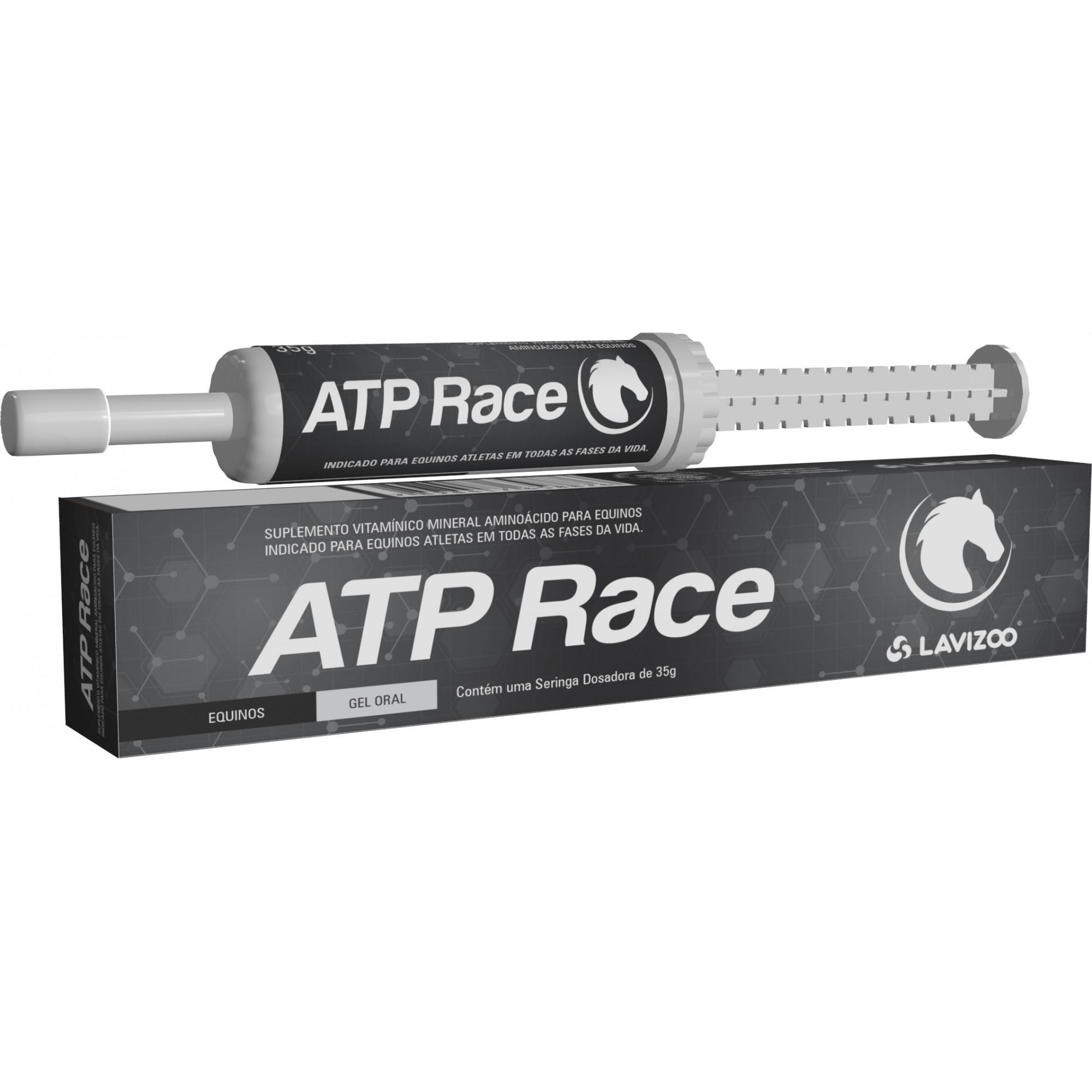 ATP Race 35gr Gel Oral  Lavizoo - Modificador Organico para Cavalos