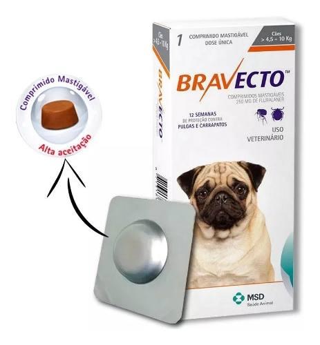 Bravecto Até 10 Kg 09/2020