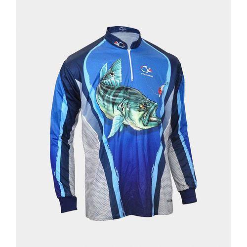 Camiseta De Pesca Faca Na Rede Combat S Tucunaré