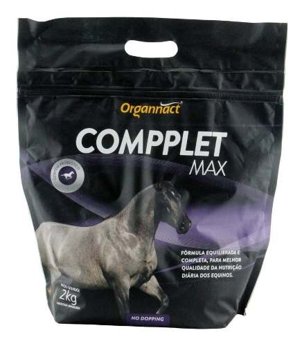 Compplet Max Organnact 2 Kg ( No Dopping ) Suplemento Aa. Para Equinos
