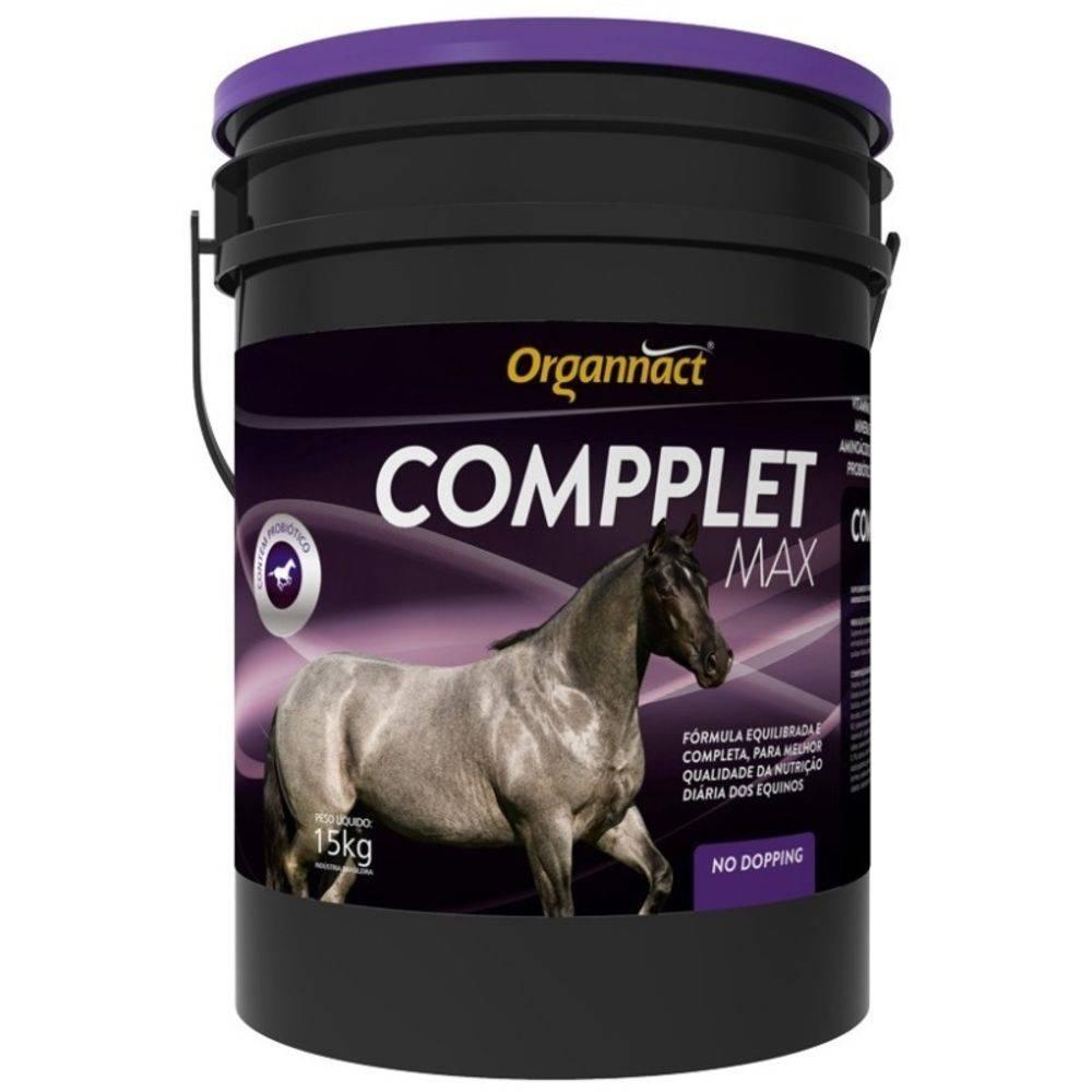 Compplete Max 15 Kg Organnact Suplemento Para Equinos