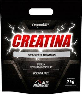 Creatina Alta Performance Organnact 2 Kg