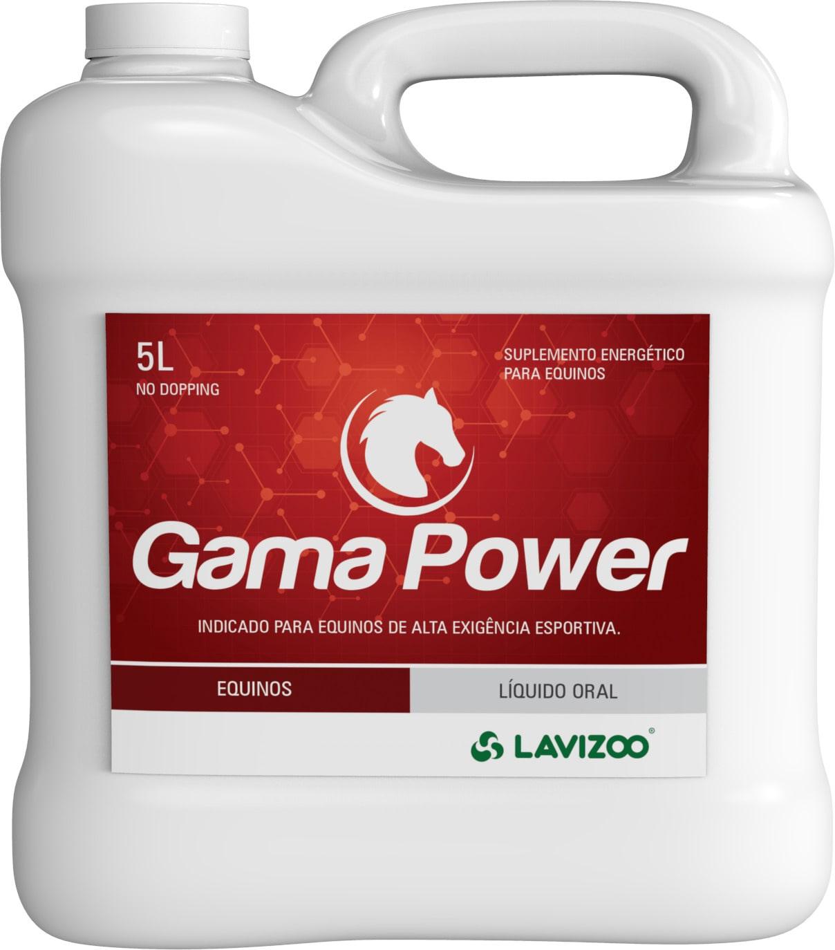 Gama Power 5L Lavizoo - Suplementação Equina