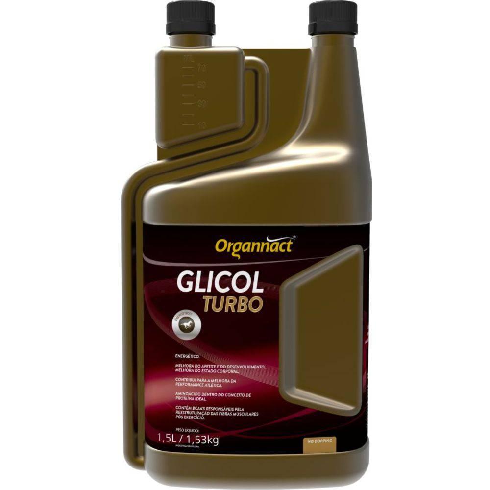 Glicol Equi Turbo Organnact Cavalo 1,5 Litros Equino 1,5l