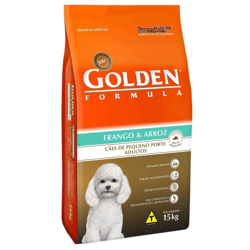 Golden Formula Adultos Salmão Mini Bits 15 Kg