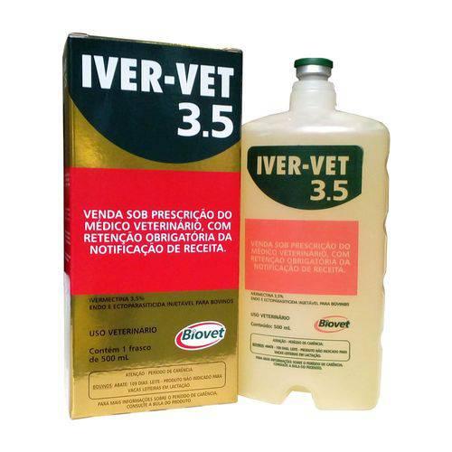 Iver-vet Injetável 3,5% - 500 Ml