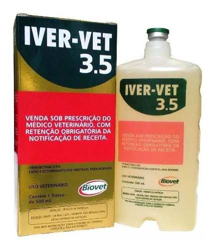 Kit Muscle Horse Turbo Organnact & Iver-vet Injetável 500 Ml