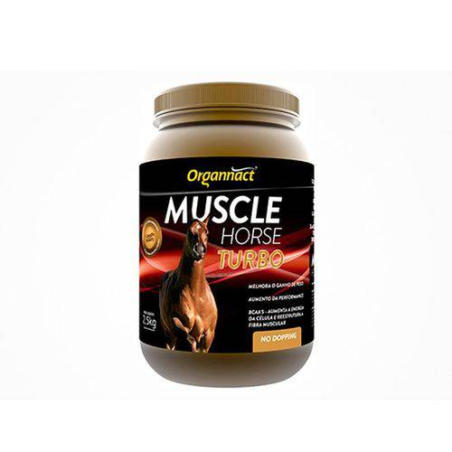 Muscle Horse Turbo Organnact - 2,5 kg