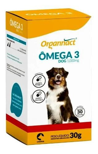 Omega3 Dog 1000mg  Organnact