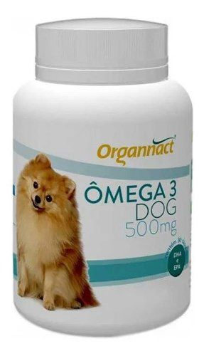 Ômega 3 Dog Organnact 500mg