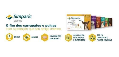 Simparic 5mg C/3 Comprimidos + Brinde