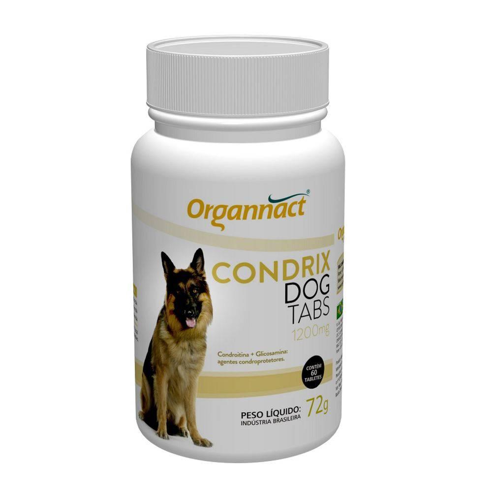Suplemento Organnact Condrix Dog Para Cães Tabs 1200mg