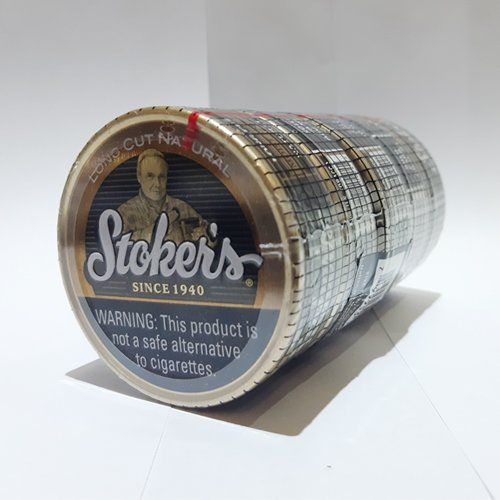 Tubo com 5 Latas Stokers Natural Long Cut