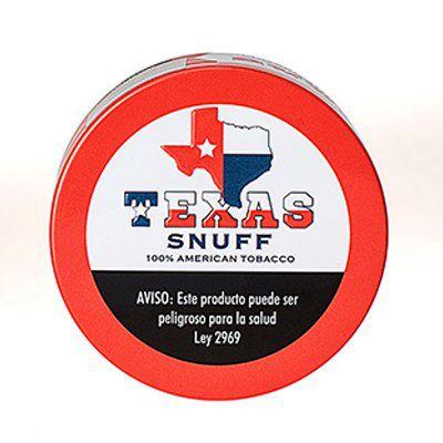 Tubo com 5 latas Texas Snuff Original Fine Cut