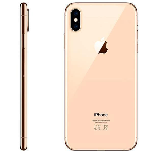"Apple iPhone Xs Max A1921 64GB Super Retina OLED de 6.5"" 12MP/7MP iOS"