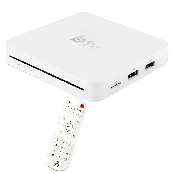 Receptor BTV 10 Abre todos os canais de TV por Assinatura Ultra HD 4K Wi-Fi/USB/A.V/HDMI