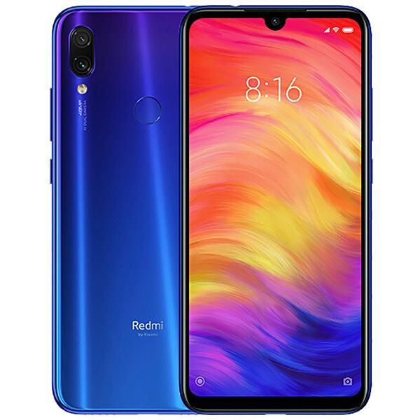 "Redmi Note 7 Dual SIM 128GB de 6.3"" 48+5MP/13MP OS 9.0"