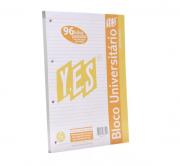 Bloco universitário Pautado Premium YES -  A4