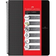Caderno Faber Castell grip - 90g/m2